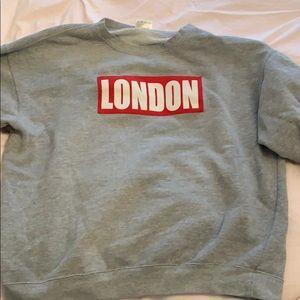 Sweaters - crew neck london hoodie
